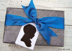 simple Baby Shower gift wrapping ideas