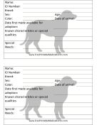 """""""Veterinary and Animal Forms""""  (a bunch of free printable medical forms)  [www.FreePrintableMedicalForms.com]"""