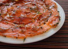Aneta Goes Yummi: Gravlax - or simply cured salmon - English Translation
