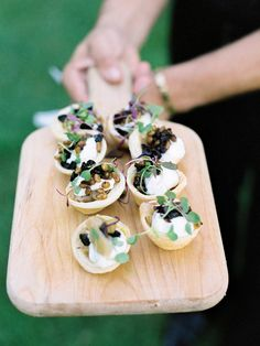 21 Mouthwatering Gourmet Foods for Your Wedding   TheKnot.com   Fresh Cheese and Herbs