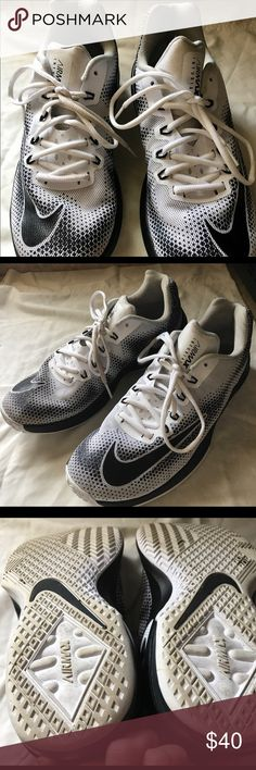 Nike Air Infuriate 9.5M Sneakers VG Cond. Gently worn. These sneakers, great for either gender are immaculate. Light wear on the soles and inside sneakers. Pet free smoke free home. Nike Air Shoes Sneakers