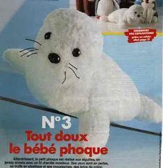 Isabelle Andréo Tricot: tuto bébé phoque