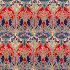 Liberty fabric: Ianthe Art Nouveau. My all-time favourite fabric!! Just LOVE it!!