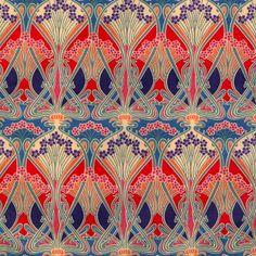 Liberty fabric: Ianthe Art Nouveau.