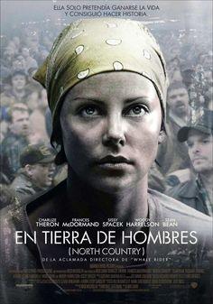 En tierra de hombres (2005) EEUU. Dir: Niki Caro. Drama. Cine social. Feminismo. Baseado en feitos reais - DVD CINE 1356