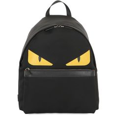 b2daeb8c32 FENDI Monster Nylon Backpack ( 1