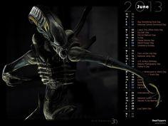 Alien Xenomorph 003b (Rendered)