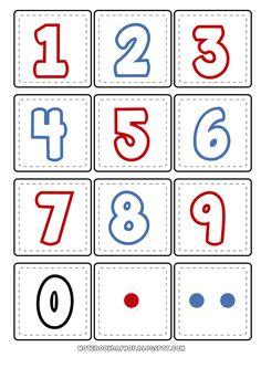 Jogo da memória números