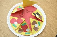 pizza foldable for fractions
