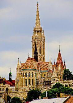 Google+Mátyás-templom - Budapest, Magyarország