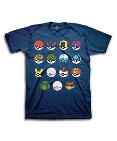 Pokémon Poké Balls Tee - Men's Regular & Big #zulily #zulilyfinds