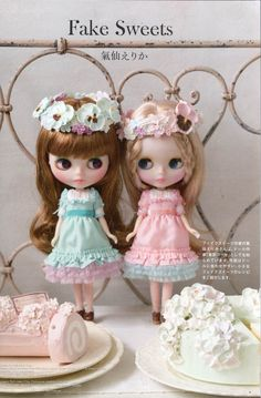 右边的仙女气 Dollybird vol 18 « Blythe Doll Press