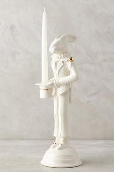 Aristocratic Animal Taper, Rabbit - anthropologie.com
