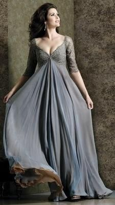 Plus Size Long sleeves Bridal Wedding Formal Evening Party Prom Dress Gown
