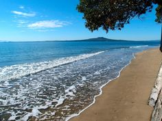 Beautiful Hauraki Gulf with the sight of Rangitoto Island in the distance Red Roof, Rest Of The World, Cook Islands, First World, Seaside, New Zealand, Distance, Prayer, Places To Go