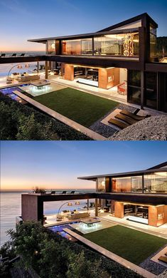 nettleton 198 house by saota House Architecture Styles, Amazing Architecture, Architecture Design, Container Home Designs, Villa Design, Cool House Designs, Modern House Design, Conception Villa, Riverside House