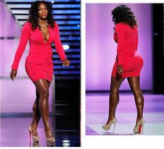 """Now THIS is a healthy, fit, and CURVY body!  WORK it, Serena!!!  """"I like big butts and i cannot lie....!"""""""