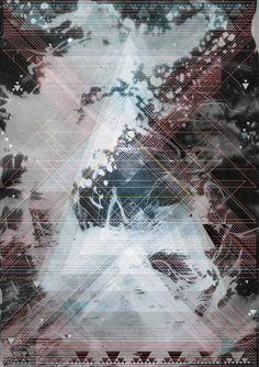 Geometric posters by Peter Tomasek, via Behance