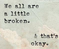 it's okay not to be okay :)