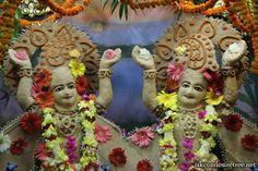 Special Darshan on Chandan Yatra at ISKCON Vrindavan on 13 May 2013