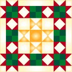 147 block tutorials from McCall's Quilting.  This is the 5-Star Block with tutorial.
