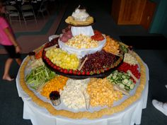 Easy appetizer table!