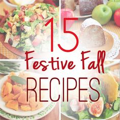 15 Festive Fall Recipes | iowagirleats.com