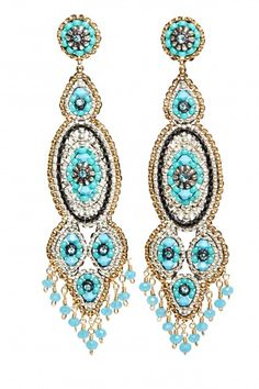 Statement Bead Earrings  | Calypso St. Barth