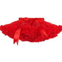 Red Pettiskirt for Girls Kids cheap Girls Pettiskirts