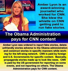 Obama pays for CNN content...propaganda much?!     :( sad...