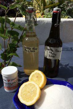 Nettle beer ingredients home brew