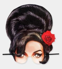 Amy Winehouse Mask, ideal for boozy parties ;)