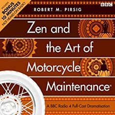 """Another must-listen from my #AudibleApp: """"Zen and the Art of Motorcycle Maintenance (Dramatised)"""" by Robert M. Pirsig, narrated by James Purefoy."""