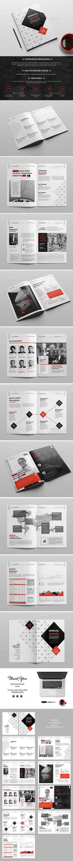 GraphicRiver - Company Brochure/Report 20 Page