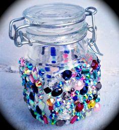 Confetti Mini Stash Jar