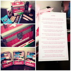 Survival Kits - Hens Night Gifts that I put together for my VIP girls at my hens night
