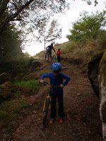 Ruta de bicicleta 4 estrellas en Galicia