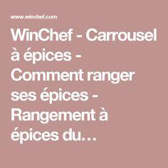 WinChef - Carrousel à épices - Comment ranger ses épices - Rangement à épices du…