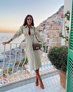 """Tamara Kalinic on Instagram: """"Matching with the colours of Positano tonight🥰"""""""