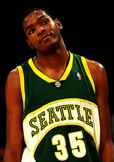 Kevin Durant...back in the day. #seattle #sports #supersonics #nba http://www.pinterest.com/TheHitman14/sports-seattle/