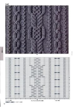 260 Knitting Pattern Book by Hitomi Shida 2016 — Yandex. Cable Knitting Patterns, Knitting Stiches, Knitting Charts, Easy Knitting, Knitting Designs, Knit Patterns, Knitting Projects, Crochet Stitches, Stitch Patterns
