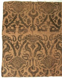 Fabric fragment      Accession Nr.:      7285     Collection:      Textile and Costume Collection     Date:      15th century     Place of production:      Germany     Materials      linen     Techniques      printed pattern  - See more at: http://collections.imm.hu/gyujtemeny/fabric-fragment/7715#sthash.ZutSaRDN.dpuf