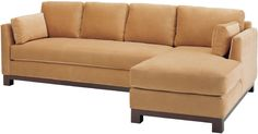 """A transitional design and a """"Man for all Seasons"""", suitable for any room, in any style. With its narrow armrests this piece, in a sofa version, measures 37″ in depth, and 79″ in length, making it small and versatile, and extremely comfortable too!"""