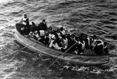On this day 105 years ago, at 12:40, Lifeboat 7 is the first to be launched from the RMS Titanic. With a capacity for 64, there are only 28 on board.  Titanic is sinking.