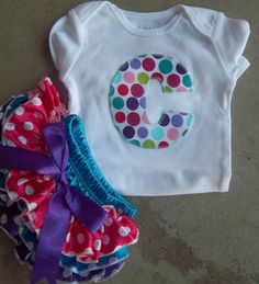 Newborn Baby Girl Outfit Take Home Outfit by LilBeanBabyBoutique
