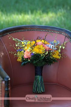 Spring bouquet by A Fantasy in Flowers. Photography by Christy Whitehead