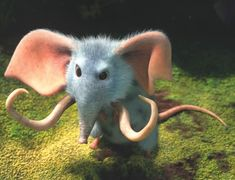 Mammoth mouse creature, from The Croods,  a 2013 American 3D computer-animated adventure comedy film produced by DreamWorks