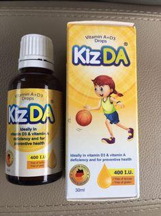 Kizda - Vitamin A & D3 nhập khẩu Đức hiệu quả