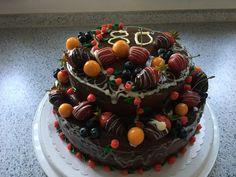 Obst zum 80. Geburtstag