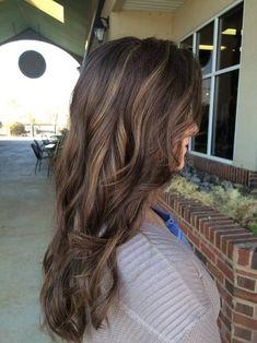 Brunette Balayage. Hair. www.erincaroline.com